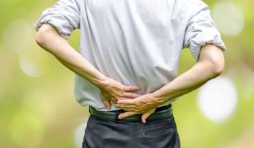 lower back pain man
