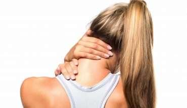 natural neck pain treatments woman